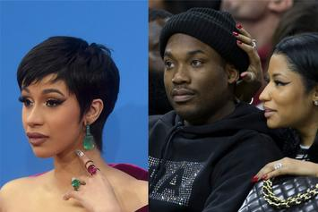 Nicki Minaj Mocked By Trolls Because Of Meek Mill's Duet With Cardi B