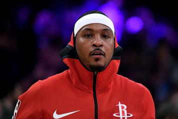 NBA Execs Think Carmelo Anthony Won't Play Again: Report