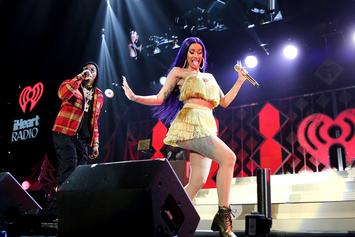 Offset Joins Cardi B For PDA-Filled Performance During KiisFM's Jingle Ball