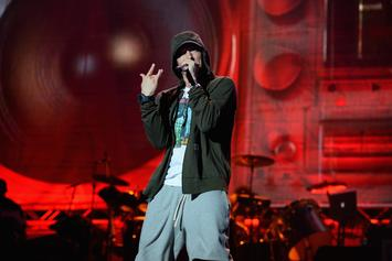"Eminem Earns Grammy Nom For Song Where He Says He ""Sold His Soul"" For Grammys"
