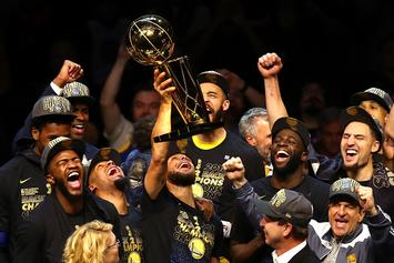 """Golden State Warriors Named Sports Illustrated's """"Sportsperson Of The Year"""""""