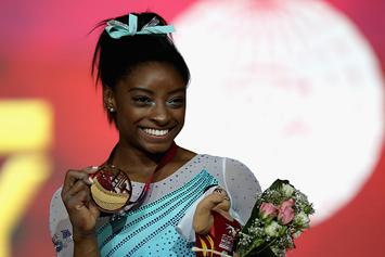 Simone Biles Named ESPN The Magazine's Most Dominant Athlete Of 2018