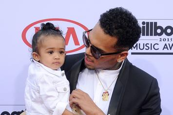 """Chris Brown's Daughter Royalty Hits """"Shoot"""" Dance In Her Gucci Sweatsuit"""