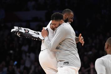 "LeBron James Wants Anthony Davis On The Lakers: ""That Would Be Amazing"""