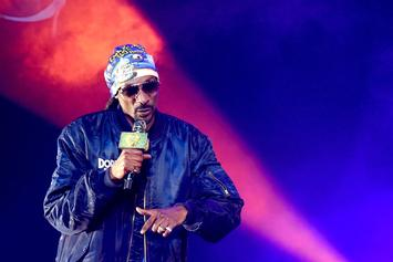 """Snoop Dogg Shouts Out Hailey Baldwin Over Vintage """"Doggfather"""" Attire"""