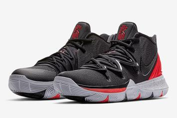 """The Nike Kyrie 5 Gets A Clean """"Bred"""" Colorway"""