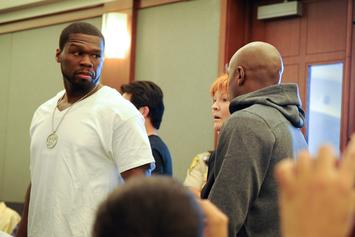 """50 Cent To Floyd Mayweather: """"You Ain't Got Sh*t On Me N***a"""""""