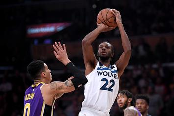 """Andrew Wiggins Reacts To Booing: """"We've Got Some Sh*tty Fans"""""""