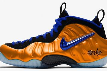 """Nike Air Foamposite Pro """"Knicks"""" Colorway Rumored For 2019"""