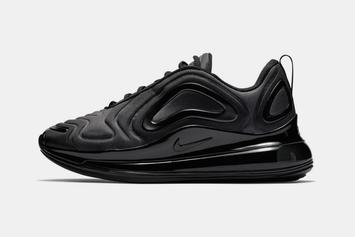 "Nike Air Max 720 Appears in ""Triple Black"" Colorway"