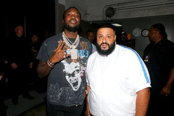 "DJ Khaled Teases Meek Mill Collab On ""Father Of Asahd"""