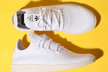 Pharrell Williams Continues Adidas Partnership With New Tennis Hu