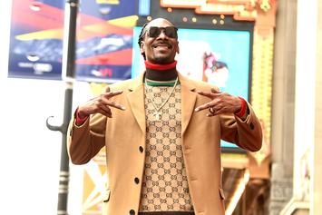 Snoop Dogg Flexes Iced Out Death Row Chain While Previewing New Music