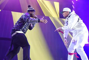 """50 Cent Co-Signs Chris Brown's New Song & Video For """"Undecided"""""""