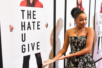 Amandla Stenberg Gets Blasted For Nazi Movie, Twitter Suspends Accounts