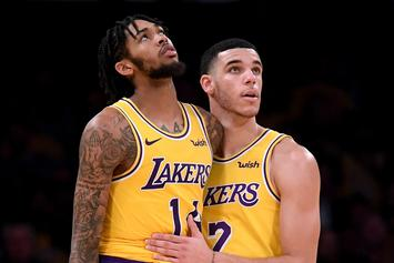 Lonzo Ball And Brandon Ingram's Late Night Phone Call Sparks A Lakers Win