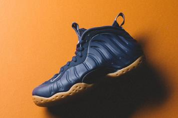 "Nike Air Foamposite One ""Navy/Gum"" January Release Confirmed"