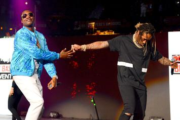 Meek Mill & Future Post Up, Prompting Collaboration Talk