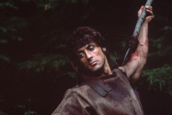 "Sylvester Stallone Shares New Black-And-White Photo Of ""Rambo 5"""
