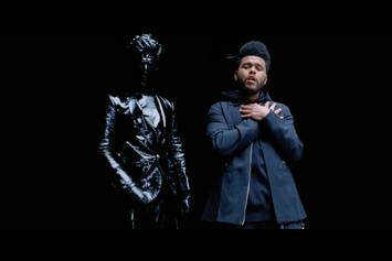 "The Weeknd & Gesaffelstein Drop Of Visuals For ""Lost In The Fire"""