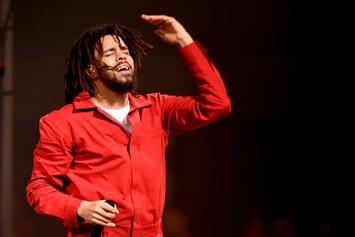 "J. Cole Reflects On Tear-Jerking ""Revenge of the Dreamers III"" Session"