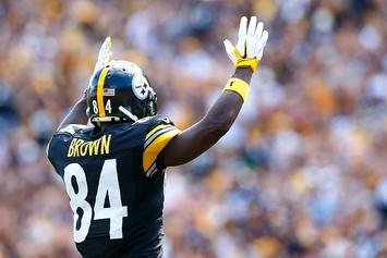 """Jerry Rice: Antonio Brown Wants To Be A 49er """"Really Bad"""""""