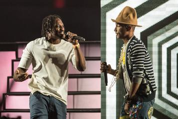 Pusha T & Pharrell Are Back In The Studio Working On New Music
