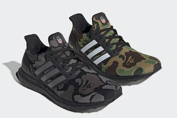 Bape X Adidas UltraBoost Official Images Revealed