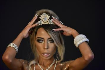 KFC Hereiss Adorns Her Naked Body With $10 Million Worth Of Diamonds