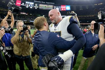 "Andrew Whitworth Of The Los Angeles Rams Says Saints Complaints Are An ""Excuse"""