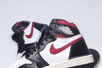 Air Jordan 1 Black And Red Colorway Early Images Revealed