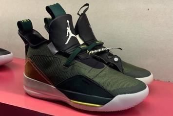 Travis Scott x Air Jordan 33 Rumored For NBA All Star Weekend Release