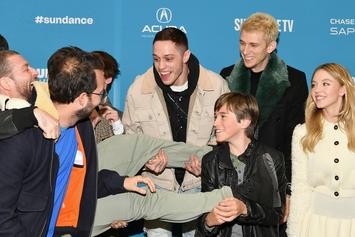 Machine Gun Kelly And Pete Davidson Are Living it Up At Sundance