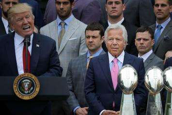 "Robert Kraft Says President Donald Trump Has Been ""Very Supportive"" Of The Patriots"
