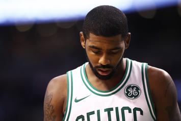 """Kyrie Irving Deflects The """"We Want Kyrie"""" Chants Of New York Knicks's Fans"""