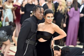 "Travis Scott & Kylie Jenner Celebrate Stormi's 1st Birthday With ""StormiWorld"" Party"