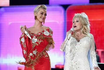"""Katy Perry Gets Slammed For """"Upstaging"""" Dolly Parton With Pitchy Vocals"""