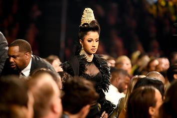 "Cardi B Lashes Out After Grammy Win Criticism: ""I'm Sick Of This Sh*t!"""