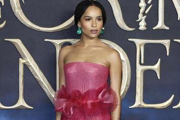 Zoe Kravitz Drops Off Another Internet-Breaking Half Nude Pic