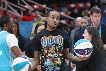 Quavo Scores Game High 27 Pts In Celebrity All-Star Game; Famous Los Wins MVP