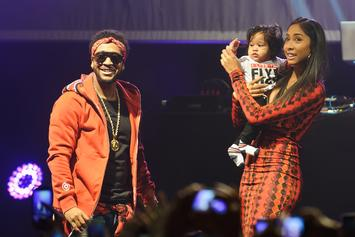 Omarion & His 4-Year-Old Son Post Up For A Dance-Off
