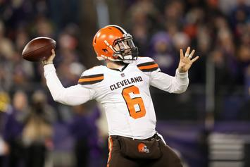 """Baker Mayfield Says """"We'll See"""" About Browns 2019 Playoff Hopes"""