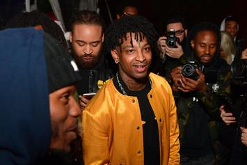 21 Savage Finally Addresses Chris Brown's Meme Trolling