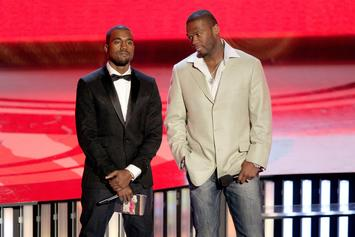 "50 Cent Reacts To Fake Kanye West Story: ""This Boy Is Really Handicap"""