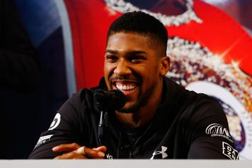 Anthony Joshua Confident That He'll Knock Out Jarrell Miller