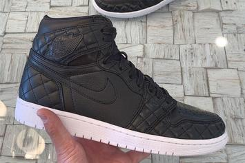 """Quilted Air Jordan 1 """"All Star"""" Surfaces: First Look"""