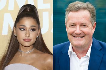 "Piers Morgan Details ""2-hour Encounter With Ariana Grande"""