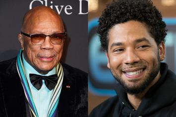 "Quincy Jones On Jussie Smollett: ""I Love Him...He's Stupid Though"""