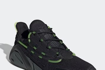 "Adidas LXCON ""Black/Green"" Release Details"