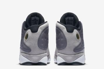 "Air Jordan 13 ""Atmosphere Grey"" Releasing In March: Official Images"